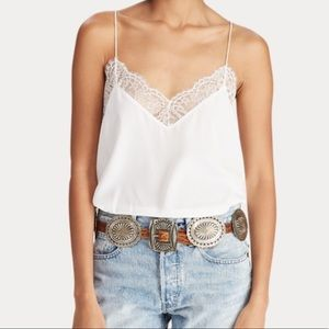 Polo by Ralph Lauren Tops - POLO Ralph Lauren while lace cami!